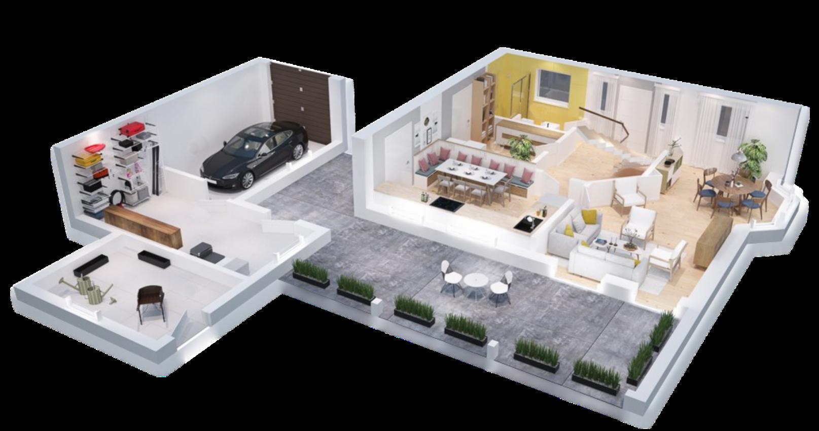 Immobilienmakler modern