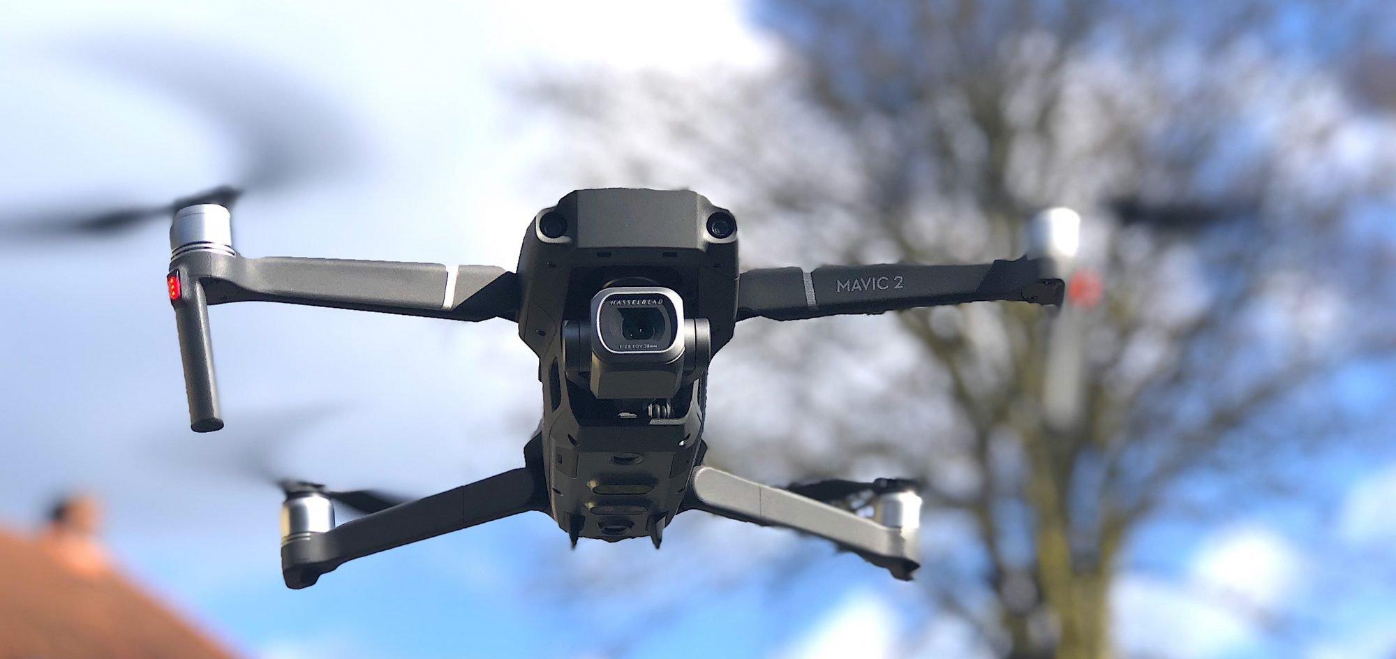 Immobilien Drohne